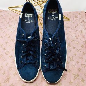 Kate Spade  & Keds Navy sneaker